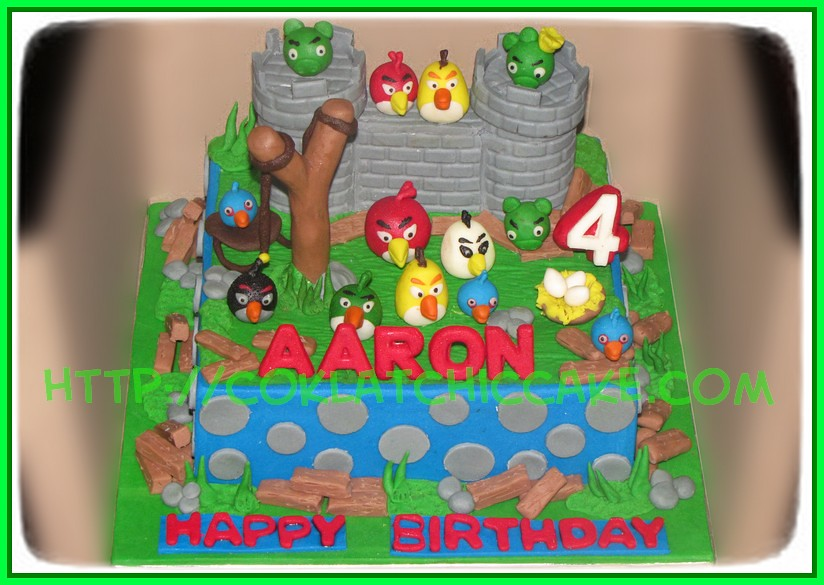 Cake AngryBirds