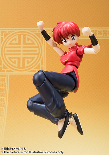SH Figuarts Ranma Saotome Girl type official image 00