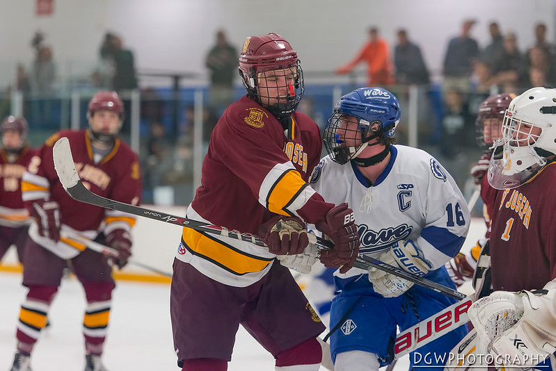 St. Joseph vs. Darien - High School Hockey