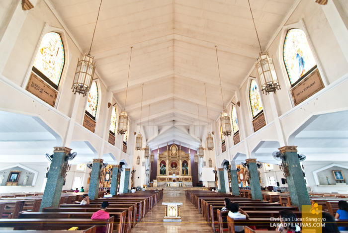 Old Sto. Niño Church Tacloban Interiors