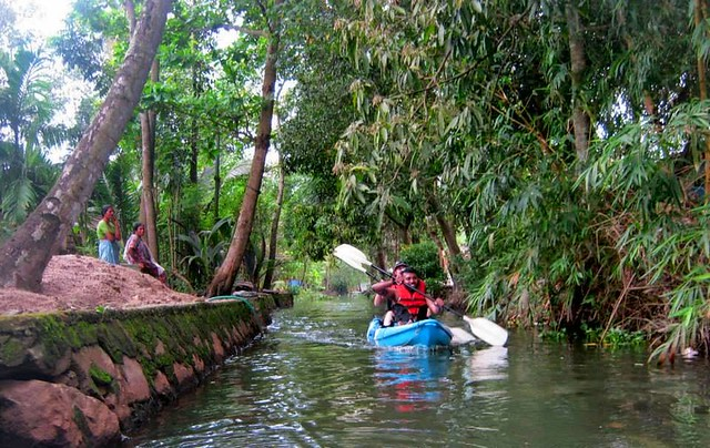 Kayaking Tour Alleppey 4 Hours