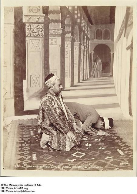 oracion en mezquita