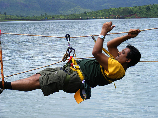 Valley Crossing, Flying Fox & Rope Challenge Kamshet