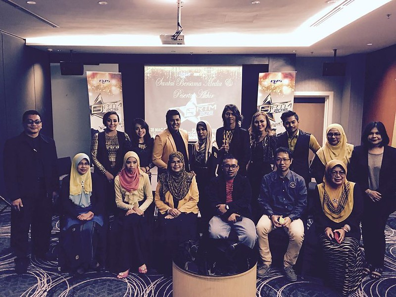 Santai Bersama Media Di Finalis Bintang Rtm 2016.