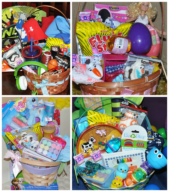 Hidden Easter Baskets