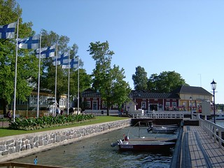 Finland (Naantali) View of seafront