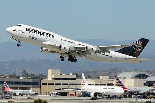 "Air Atlanta Icelandic, Boeing 747-400, ""Ed Force One"""