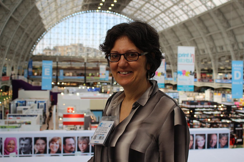 Nicola Solomon - London Book Fair 2016