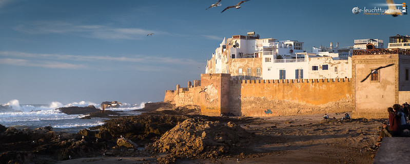 Essaouira in evening light