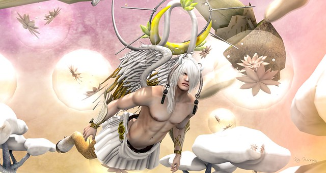 {Rising Moon} halo silver .::Cubic Cherry ::. @ FantasyFaire