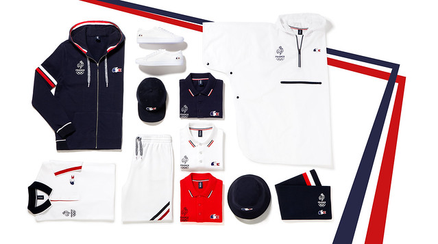 French Olympic team outfit