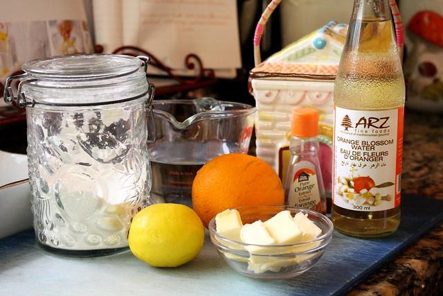 Orange Lemon Dessert Sauce