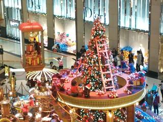 中環 置地廣場 central hongkong 熊 2015 CIRCLEG 聖誕裝飾 (7)
