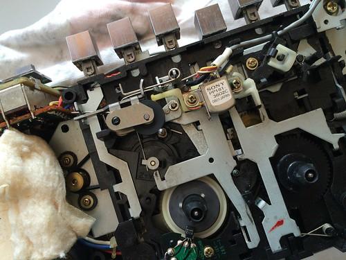 CFS-10 デッキ修理