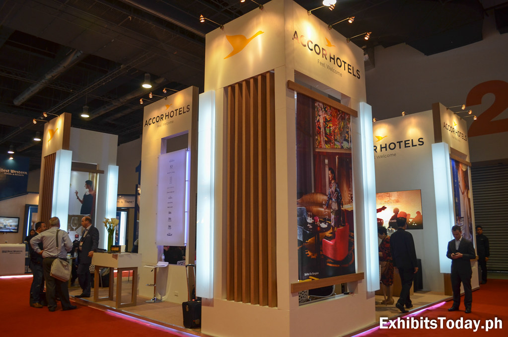 Accor Hotels Exhibit Stand