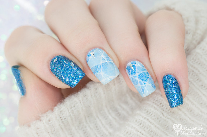 Ice skating nails