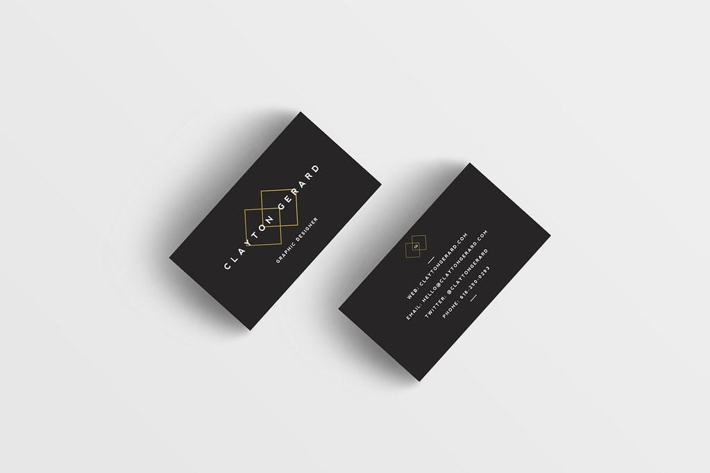Business Card Mockup_No Reflect