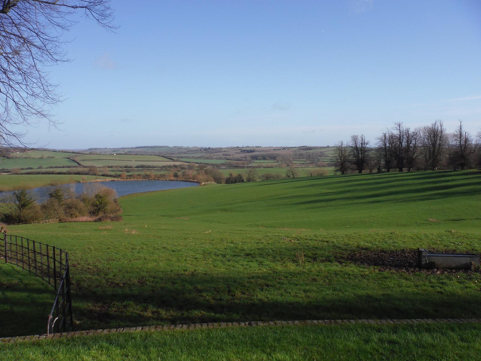 southwesterly view from Chilton House SWC Walk 191a Haddenham Circular (w/o Brill)