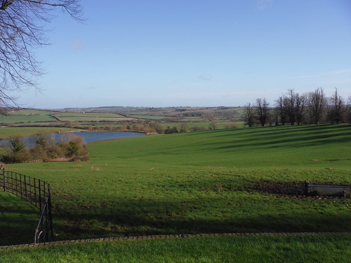 southwesterly view from Chilton House