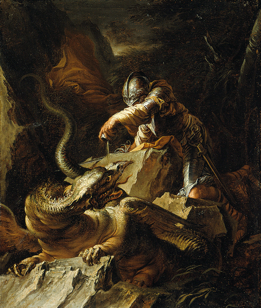 Salvator Rosa - Jason and the Dragon, 1665