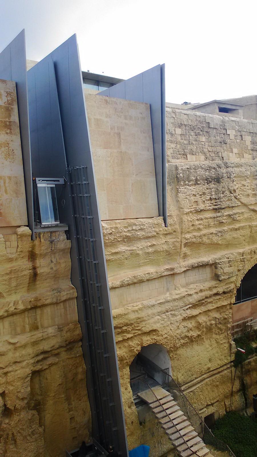 Mura d'entrata a Valletta