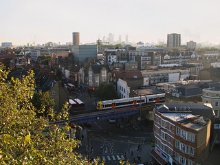 Looking Down on the Overground