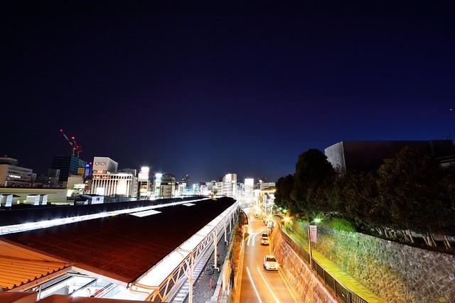 広角レンズの夜景2