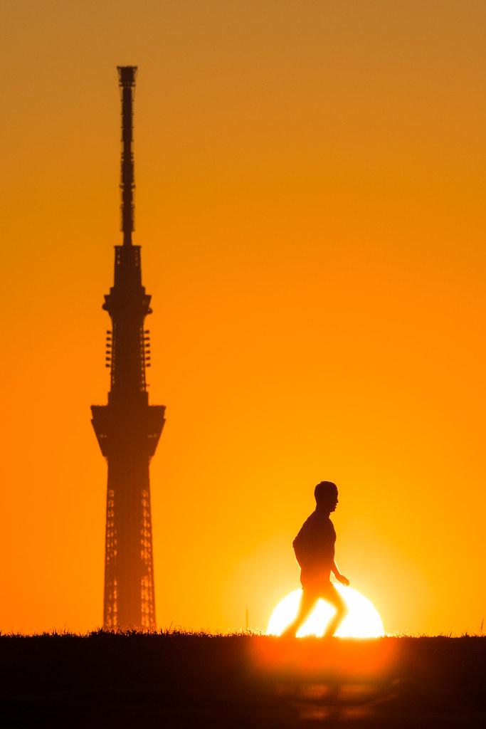 20160117_02_Sunset and Tokyo Sky Tree