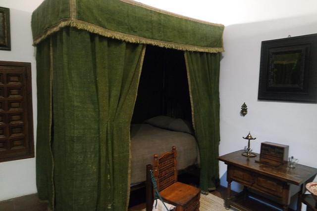 Dormitorio de Antonia Clara