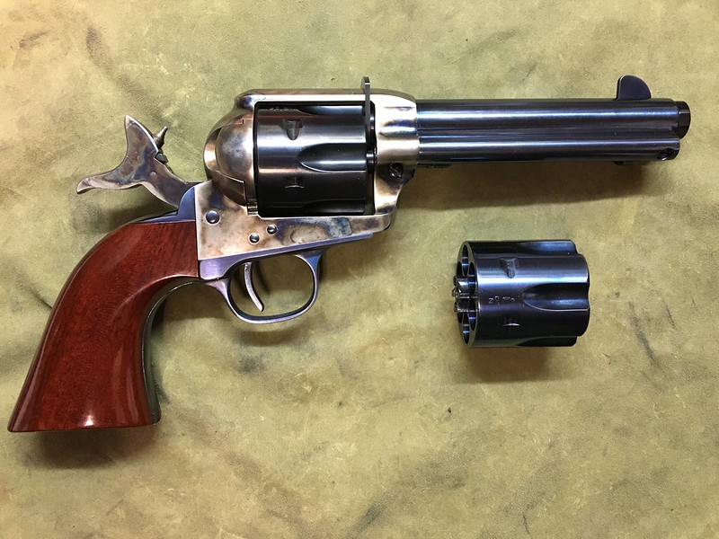 Slicking up an Uberti 1873 Cattleman and fitting new