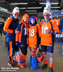 Jan 17 2016 - More great Bronco fans at playoff game