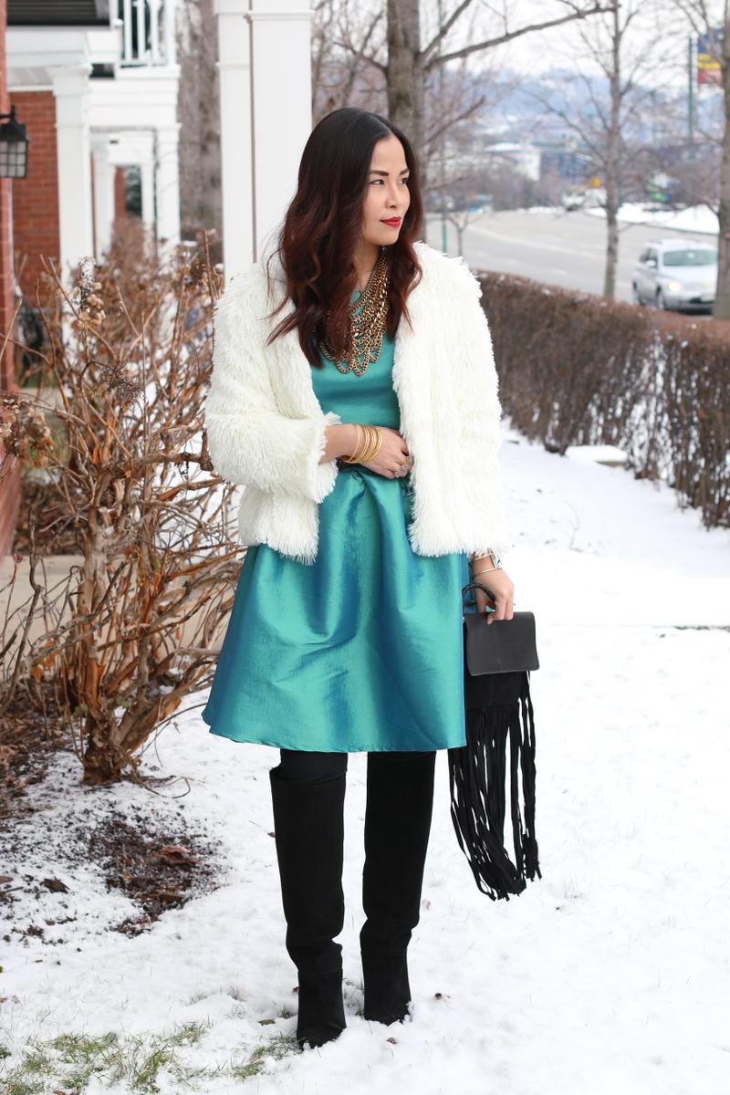 Shabby-Apple-dress-faux-fur-jacket-9
