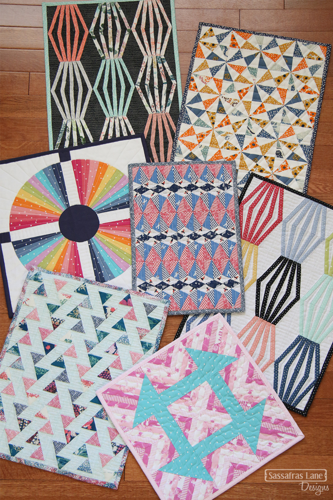 Mini Quilts in Dear Stella Fabrics