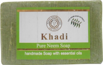 Neem soaps in India - Khadi neem Soap Price Benefits