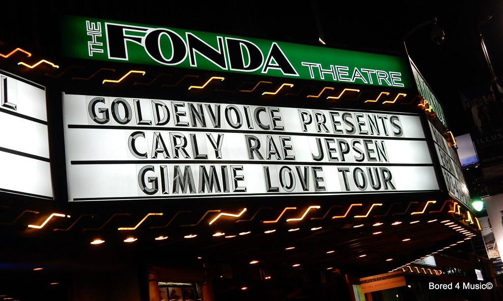 Carly Rae Jepsen, Cardiknox, & Fairground Saints @ The Fonda Theatre (02/25/16)