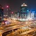 Busy interchange, New Beijing Business District