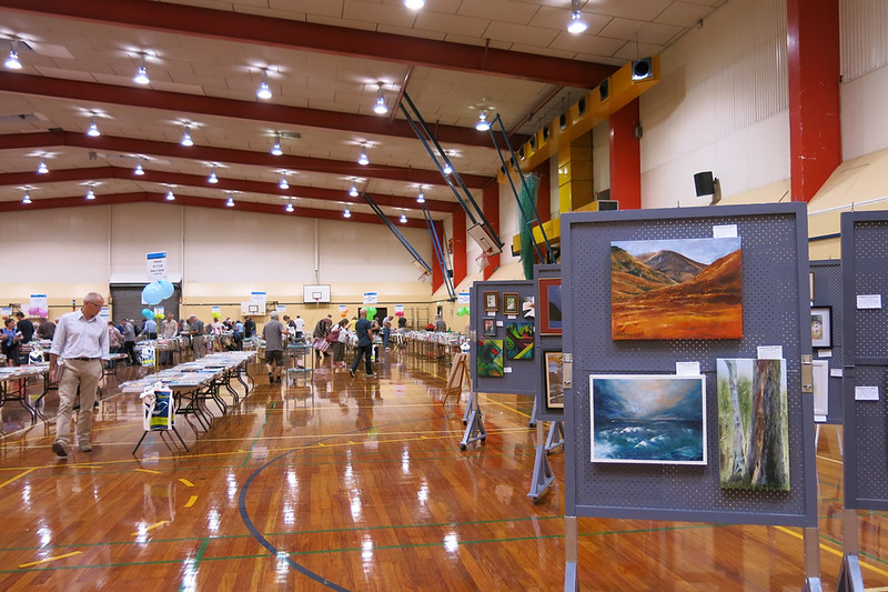 Landscape Art Group paintings at the Big Bargain Book Sale