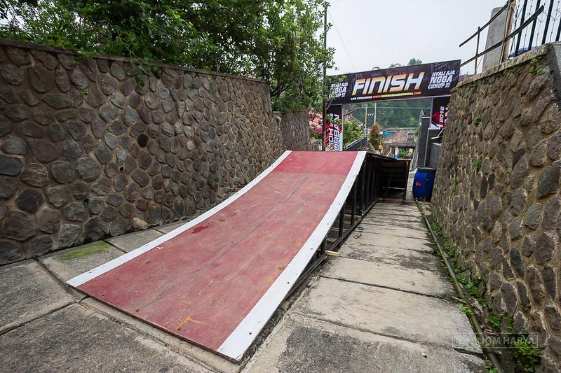 Jump terakhir menuju finish