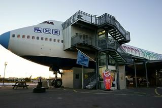 Image of Jumbo Hostel. stockholm flughafen arlanda flugzeuge wintersonne jumbohostel fe28mmf2 sonyalpha7iimit28mm jumbo747200