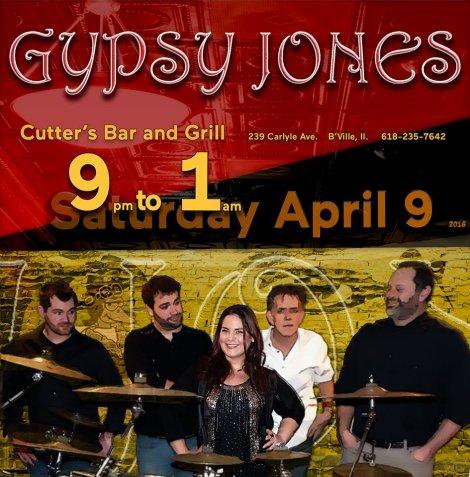 Gypsy Jones 4-9-16