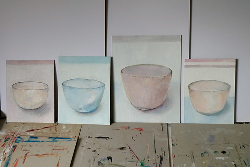 new bowl paintings