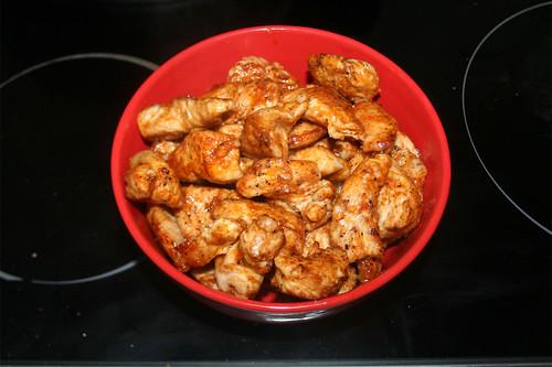 34 - Fleisch aus Pfanne entnehmen / Remove meat from pan