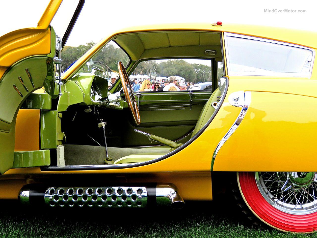 1952 Pegaso Z-102 Cupula Coupe Amelia Island 6