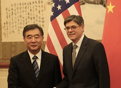 U.S. Department of the Treasury: Treasury Secretary Jacob J. Lew and Vice Premier Wang Yang (Monday Feb 29, 2016, 5:16 PM)