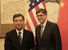U.S. Department of the Treasury: Treasury Secretary Jacob J. Lew and Vice Premier Wang Yang (Monday Feb 29, 2016, 5:16 PM)