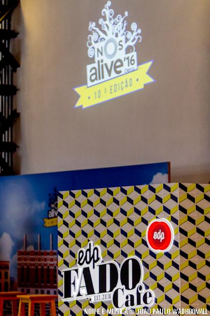 Apresentação EDP Fado Café - NOS Alive'16