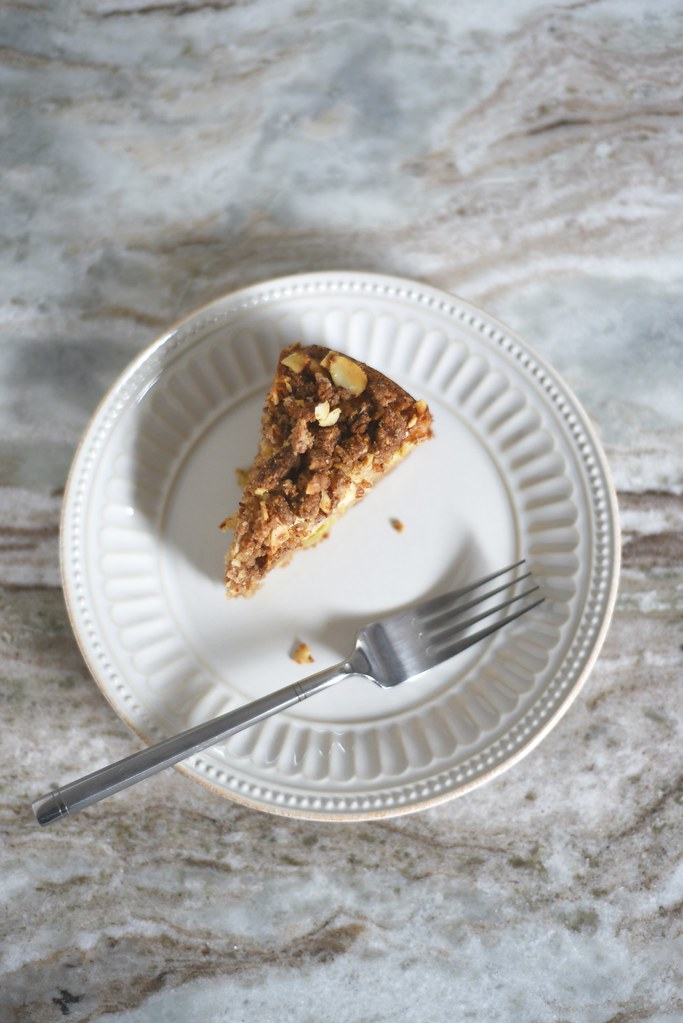 Pear-Apple Yogurt Crumb Cake (GF + DF)