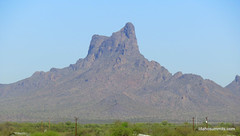 Picacho Peak from I-10