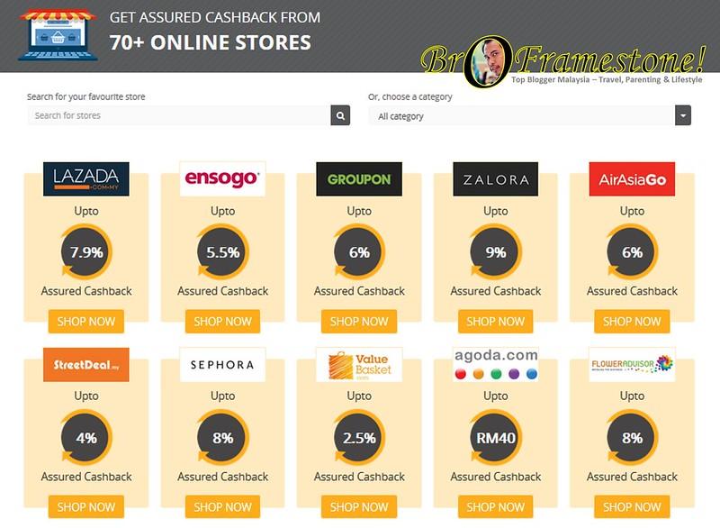 Getex - Cashback Setiap Kali Membeli Belah Secara Online