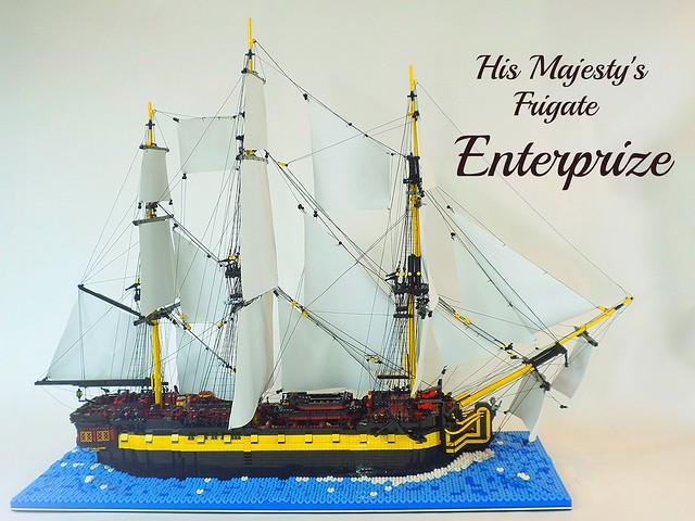 His Majesty's Frigate Enterprize